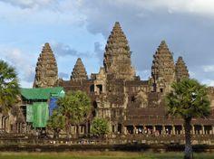 Pineapple towes-like of Angkor Wat, the jewel of Indochina