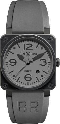 Bell & Ross Aviation Watch BR 03-92 COMMANDO Ceramic