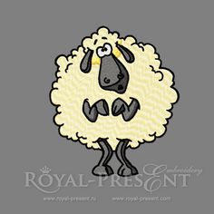 Machine Embroidery Design - Sheep