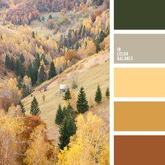 greenery, бежевый, коричневый, оттенки коричневого, палитра для осени, салатовый, серо-коричневый, теплый коричневый, цвет корицы, цвет травы, цвета Pantone 2017, цвета осени 2017, цветовая палитра осени.