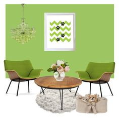 """""""Green home"""" by ivanadigitalwallart on Polyvore featuring interior, interiors, interior design, home, home decor, interior decorating and Herman Miller"""