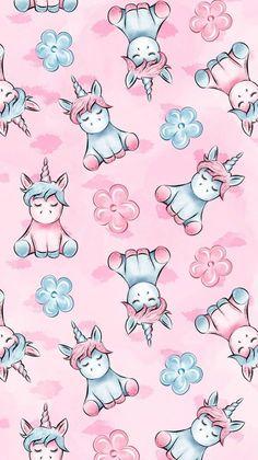 Unicornios Wallpaper, Trendy Wallpaper, Kawaii Wallpaper, Tumblr Wallpaper, Cellphone Wallpaper, Disney Wallpaper, Cartoon Wallpaper, Tumblr Backgrounds, Cute Wallpaper Backgrounds
