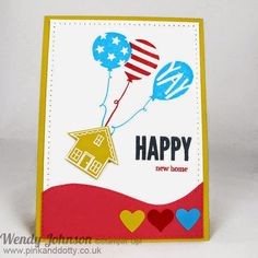 Stampin' Up! You Brighten My Day and Balloon Bash stamp sets from Sale-A-Bration and Spring/Summer 2015 Catalogues