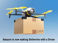 Would you like your package delivered by a drone?