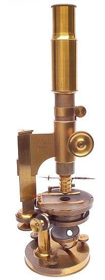 Pistor & Martins | Berlin | No. 667 Monocular Microscope | 1860