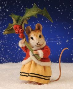Annamarie - The Winter Mouse by R. John Wright