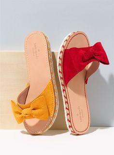 5af55bb65706 Kate Spade New York Idalah Espadrille Sandal in Turmeric Yellow and  Maraschino Red  110.00 Red Espadrilles
