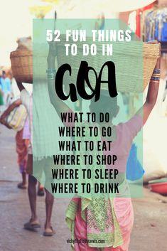 52 Fun Things to do in Goa, India Goa Travel, India Travel Guide, Paris Travel, Travel Destinations, Ireland Vacation, Ireland Travel, County Cork Ireland, Galway Ireland, Belfast Ireland