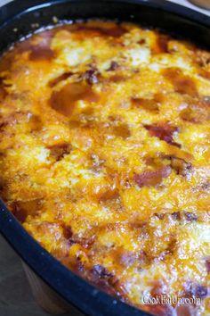 Κοκκινιστό με τυριά στο φούρνο ⋆ Cook Eat Up! Macaroni And Cheese, Ethnic Recipes, Food, Mac And Cheese, Essen, Meals, Yemek, Eten