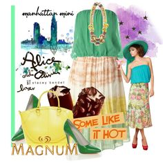 Some Like it Hot with MAGNUM Ice Cream - Polyvore