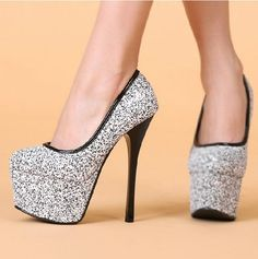 Rhinestone High Heels Shoes | Clothes & Shoes | Pinterest | My ...
