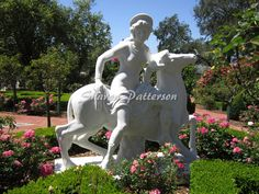 Photograph of Europa statue in garden.  Artwork by Sharon Patterson may be PURCHASED at: http://1-sharon-patterson.fineartamerica.com AND http://canstockphoto.com/stock-image-portfolio/SharonPatterson AND http://www.bigstockphoto.com/search/?contributor=Sharon%20Patterson&safesearch=n