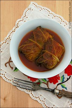 Traditional Polish Cabbage Rolls - Gołąbki --- my favorite meal.  My grandmother taught me.  Our family recipe; a bit different -- same great taste!