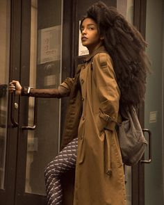 Afro Rapunzel. Tk Wonder and her glorious mane. Yes this is her very own natural hair grown from her scalp. Most people assume it is extensions. Longest natural hair ever seen. Long natural hair. long afro hair.