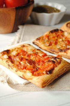Blue Cheese and Tomato Tart by How To: Simplify, via Flickr