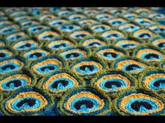 Click Here for the pattern: http://crocheting.myfavoritecraft.org/peacock-pretty-blanket-pattern/ Pattern by: Kraftling, Saskatoon The above is an affiliate ...