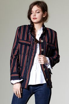Aneena Tweed Jacket Discover the latest fashion trends online at storets.com
