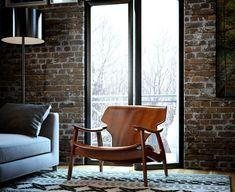 Create the perfect vintage industrial bedroom Vintage Industrial Bedroom, Industrial House, Vintage Stil, Vintage Home Decor, Living Room Decor Inspiration, New York Loft, Loft Style, Home Interior Design, Decoration