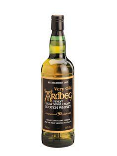 Whisky ARDBEG 30 ans Black Label Green Glass 40% - La Maison du Whisky 1150 euros ...argh