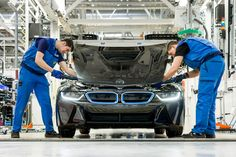 behind the scenes: creating the electric BMW i8 from scratch - designboom | architecture