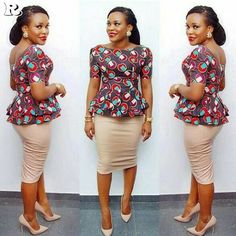 Ankara Skirts for church and the TGIF office outfit - Reny styles - African Fashion Dresses