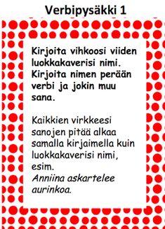 OpenIdeat: Verbejä ja historiaa Teaching Reading, Learning, Finnish Language, Abc For Kids, Future Jobs, Getting Bored, School Fun, Special Education, Literature