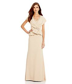 MGNY Madeline Gardner New York Mock Two Piece OfftheShoulder Gown #Dillards