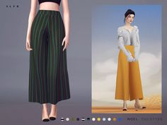 """theslyd: """" Noel Culottes """"Download: TSR (May 21) """" """""""