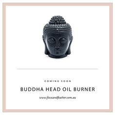 """36 Likes, 1 Comments - Foxx + Feather (@foxxandfeather.co) on Instagram: """"Coming to the new store: Black Buddha Head oil burner... #centralcoastnsw #foxxandfeather…"""""""