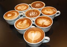 Cappuccino Coffee Art.
