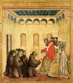 Giotto - The Approval of the Franciscan Rule