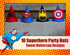Superhero Party Package Giveaway 5th Birthday Party Ideas, Kids Party Themes, Birthday Fun, Birthday Hats, Green Lantern Party, Superhero Theme Party, Superhero Cake, Comic Party, Party Time