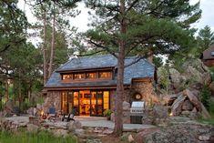 Beautiful mountain home near Rocky Mountains, Colorado