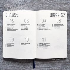 35 Minimalist Bullet Journal Spreads You Have To Try Right Now - - Bullet journal - Simple, Beautiful and Minimalist Bullet Journal Weekly Spreads/Layouts you need to try right now.