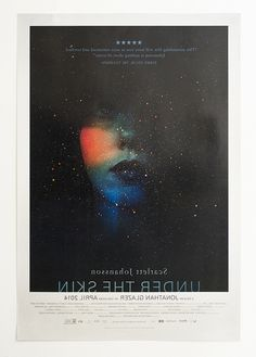 Full color #offset #movie #poster for #UnderTheSkin