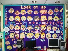 Ourselves Display, class display, Ourselves, Look at us, Art, Classroom Display, drawings, Art and Craft, Early Years (EYFS), KS1 & KS2 Primary Resources
