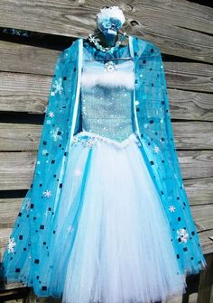Disney+inspired+Frozen+Queen+Elsa+Tutu+dress+by+BaileysBowsGA