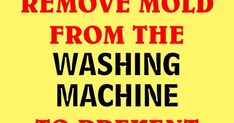 Washing machines serve for cleaning your clothes, leave them with a pleasant scent and disinfect them. However, if they are not used proper...