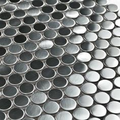 Amazon.com: Stainless Steel Tiles Penny Rounds Metal Mosaic Tiles: Everything Else