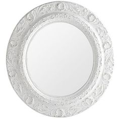 Antiqued White Mirror -- This mirror will most likely be the mirror in our bathroom.  It isn't very big...but, the space is small and this one will be perfect.