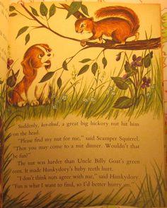 VINTAGE KIDS BOOK Fun for Hunkydory a Little Golden Book - May Justus - Sue d'Avignon