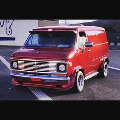 killer custom 70's Chevy Van