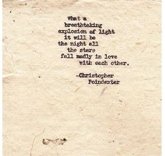 Romantic Universe by Christopherspoetry on Etsy, $10.00