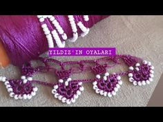Baby Knitting Patterns, Tassels, Crochet Necklace, Turquoise, Beads, Jewelry, Youtube, Bead Jewelry, Crocheted Toys