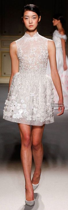 Georges Hobeika Couture Collection Spring 2013