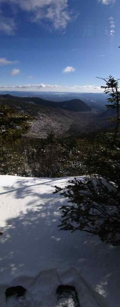 New Hampshire White Mountains | Mt. Whiteface 4,020' | Mt. Passaconaway 4,043'. To learn more about the art of winter hiking visit whitemountainwoodworks.com