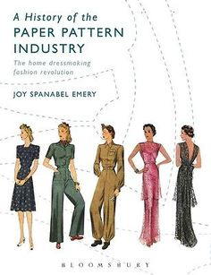A History of the Paper Pattern Industry: The Home Dressmaking Fashion Revolution | eBay