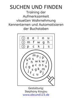 buchstaben suchen und finden alfabet karty pracy pinterest vorschule grundschule und. Black Bedroom Furniture Sets. Home Design Ideas