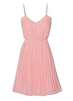 Every woman should have a pretty pink dress....