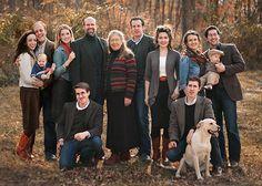 The Botkin Family: Geoffrey & Victoria and their 7 grown children (2 married w/children) - Isaac, David, Anna Sofia, Elizabeth, Benjamin, Lucas, and Noah.